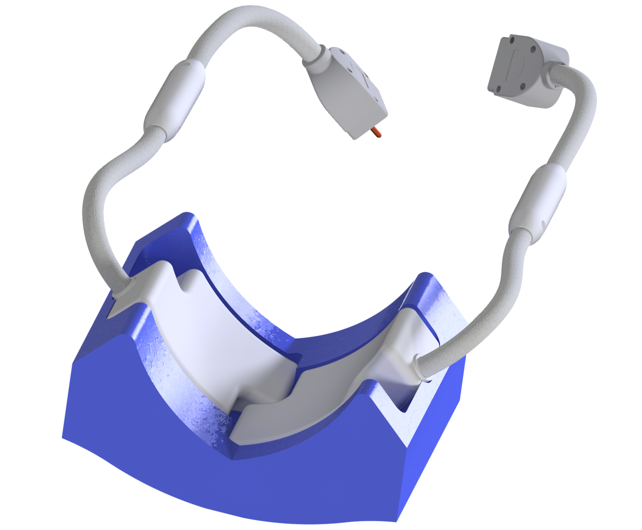 Occipital coil with cushion for Rendering2